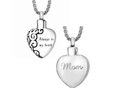 Always in my Heart Pendant Keepsake (Urn)