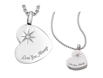 Love you Always Pendant Keepsake (Urn)