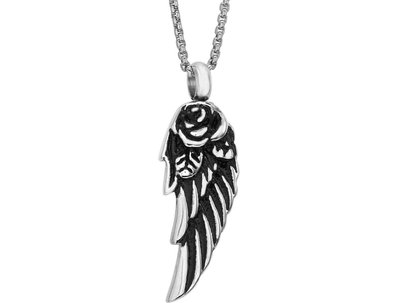 Angel Wing Pendant Keepsake (Urn)