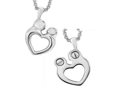 Family Heart Pendant Keepsake (Urn)