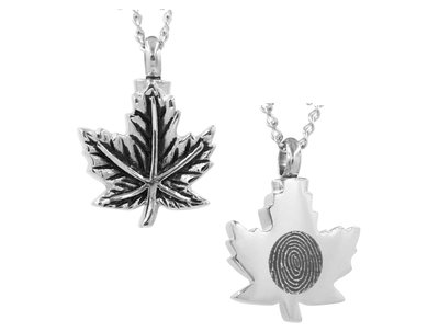 Maple Leaf Keepsake (Urn)